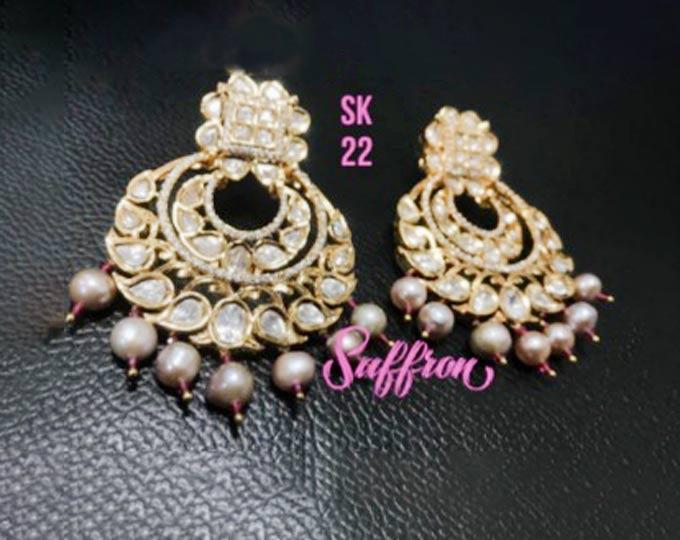 kundan-beads-earrings
