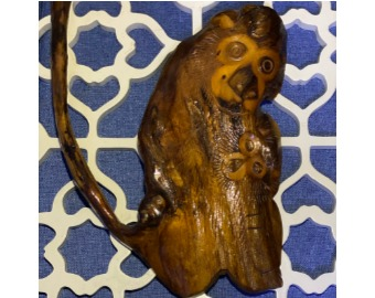 monkey-wooden-sculpture-art