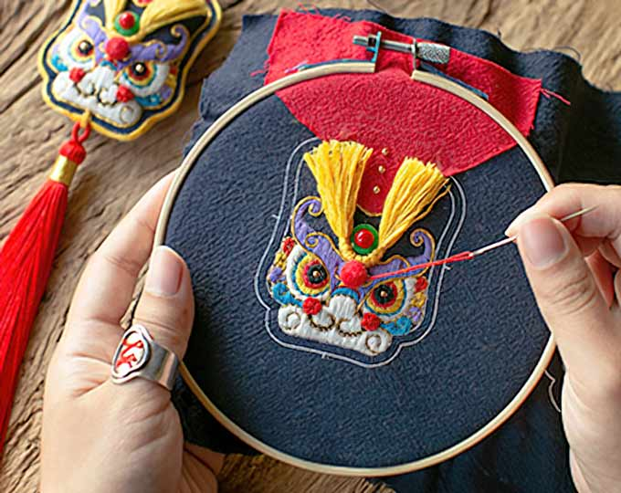 狮子在中国自古是祥瑞的象征将中国传统文化以