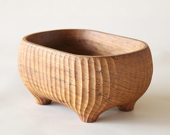 handmade-myanmar-teak-bowl-wood