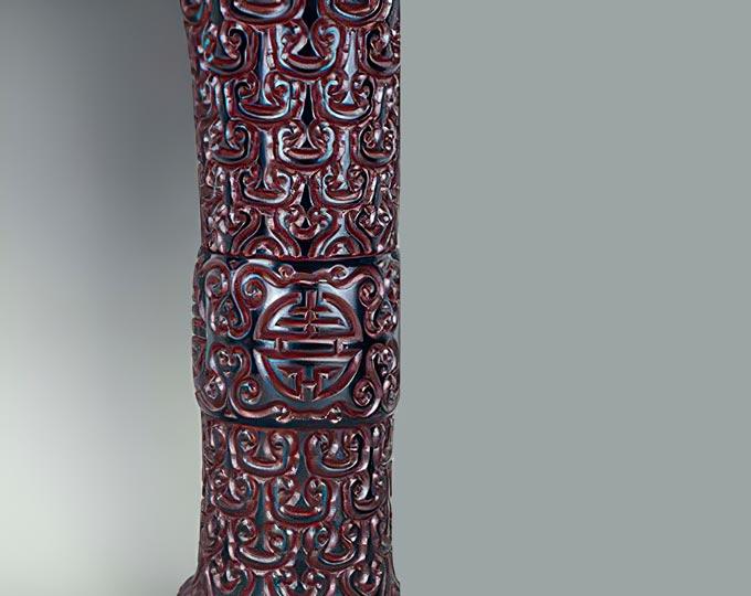 flower-vase-jiangzhoutixi-carved B
