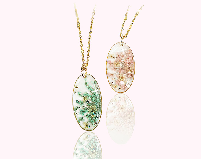 real-flower-crystal-oval