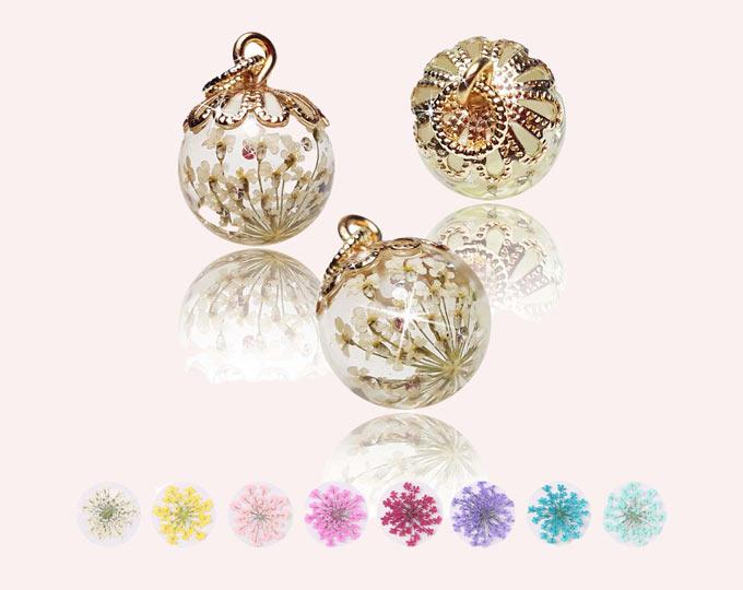 golden-real-flower-provence-ball