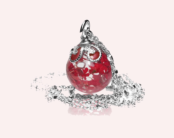 provence-ball-necklace-true-red