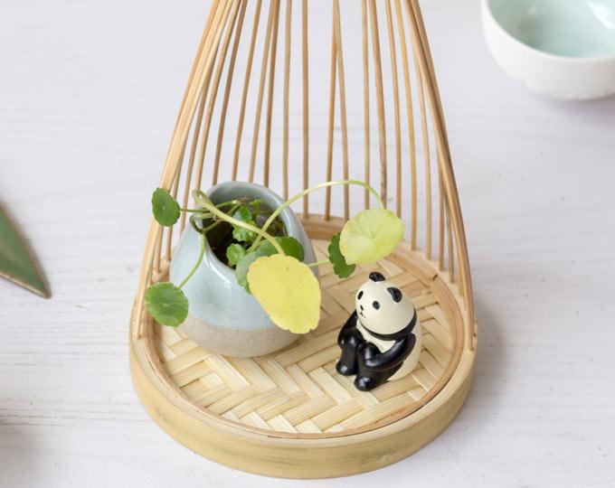 panda-ceramic-vase-bamboo-flower B