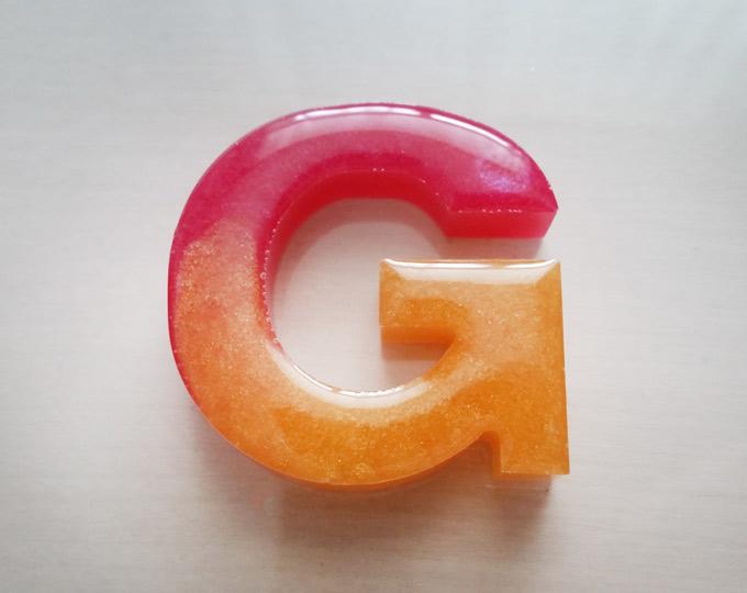 g-letter-keychain