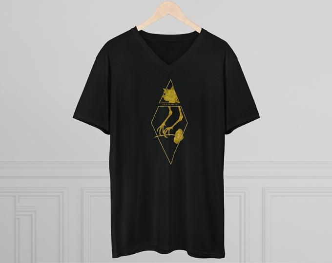 black-and-gold-custom-crow-raven