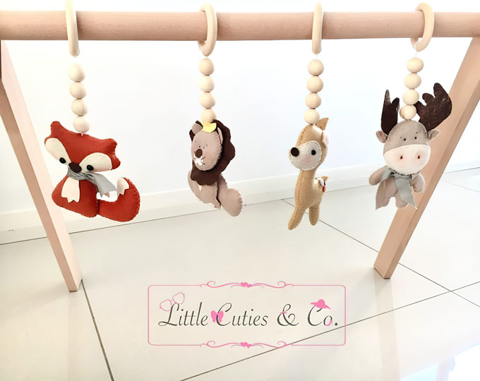 woodland-animals-baby-gym