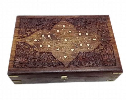 carved-wood-box-with-brass-inlay