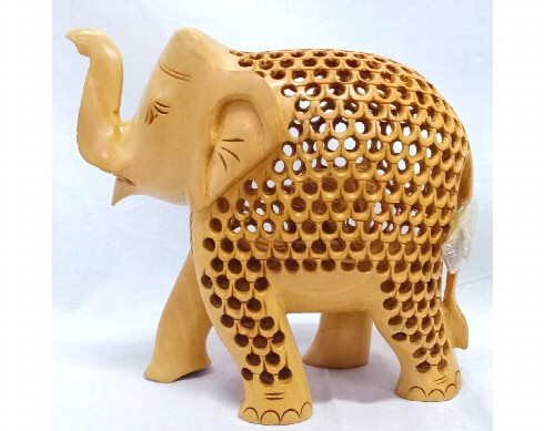 wooden-jali-elephantelephant