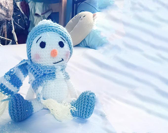 Amigurumi-Snowman