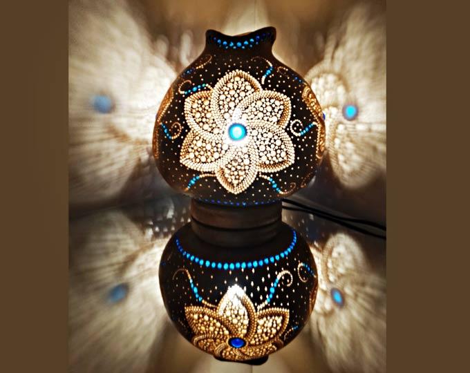 daisy-handmade-gourd-lamp-calabash