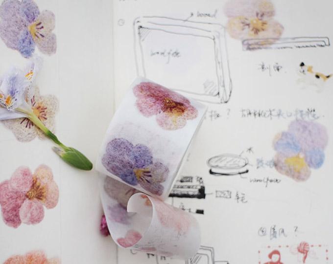 kun-wool-felt-paper-tape-fiber