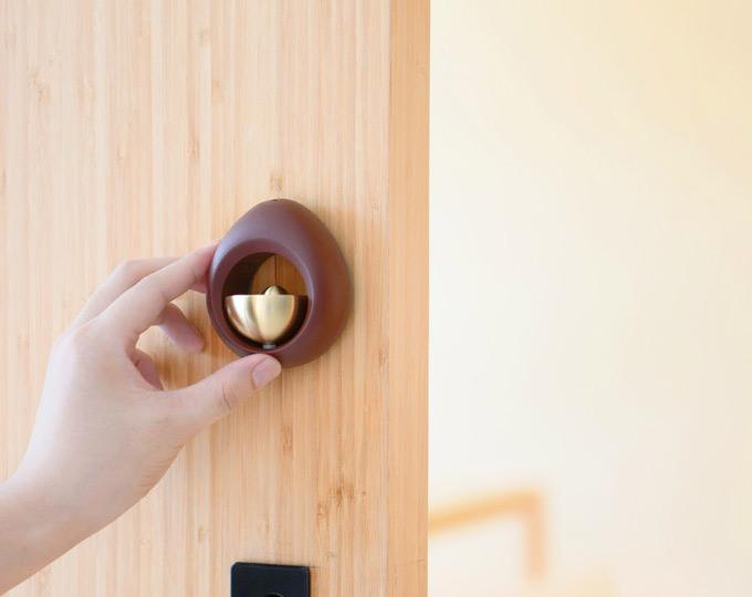 door-bell-drip-brass-bell-reddish