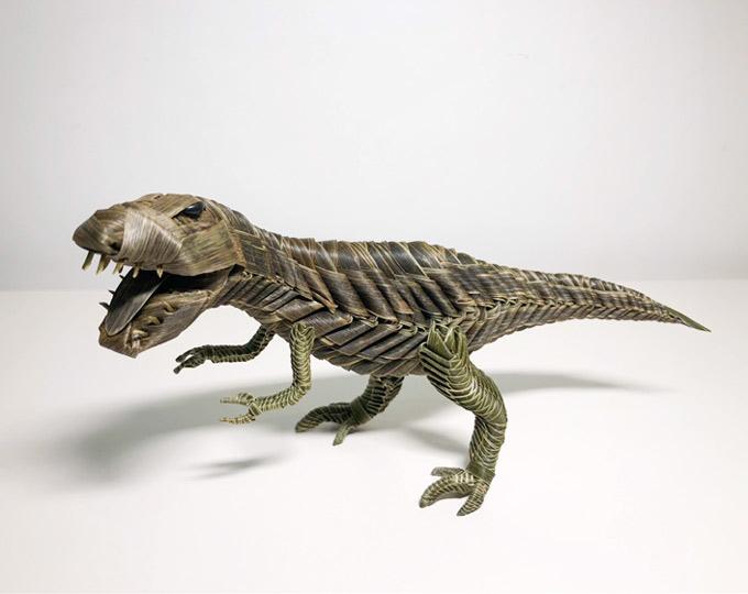 palm-leafmade-dinosaur