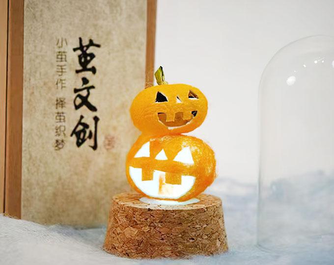silkworm-cocoon-pumpkin