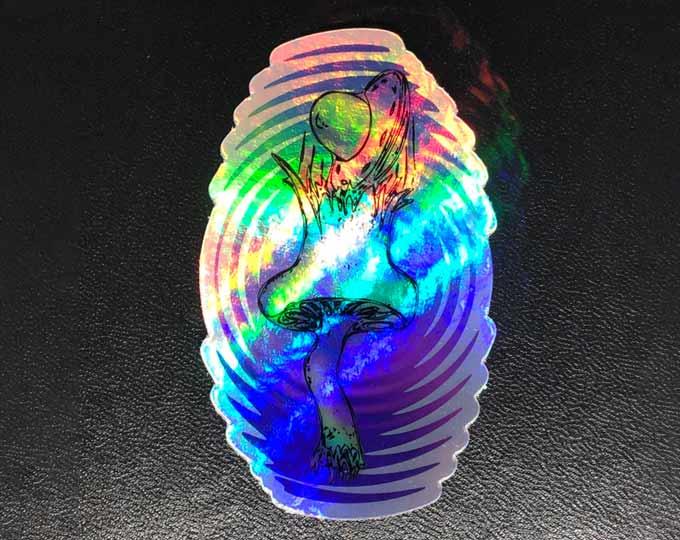 holographic-sticker-musroom-ufo