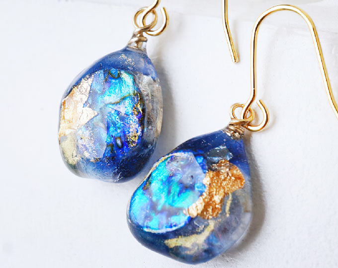 seacolored-glass-art-earrings