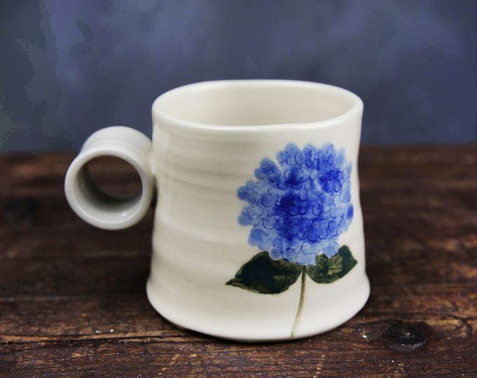 hydrangea-pattern-cup-coffee-cup