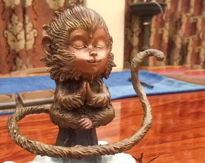 monkey-xi-xi-sculpture