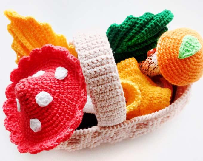 crocheted-mushroomfairy-mushroom