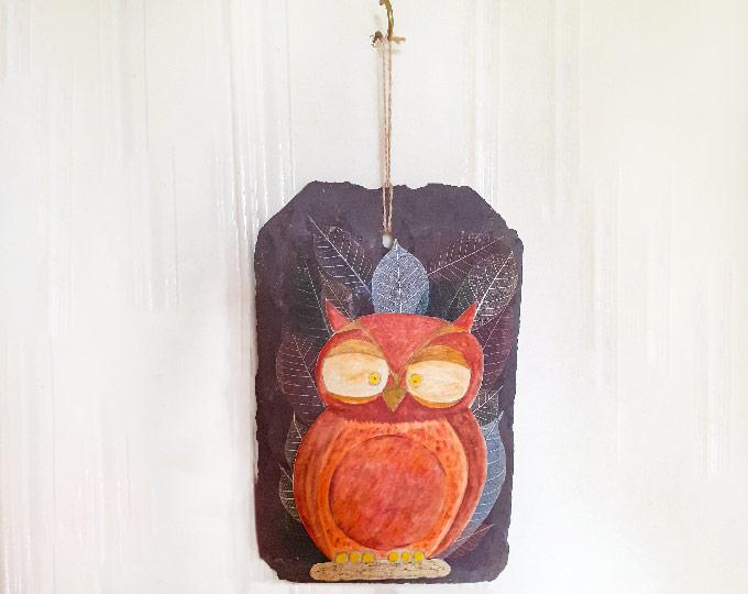 owl-on-slate