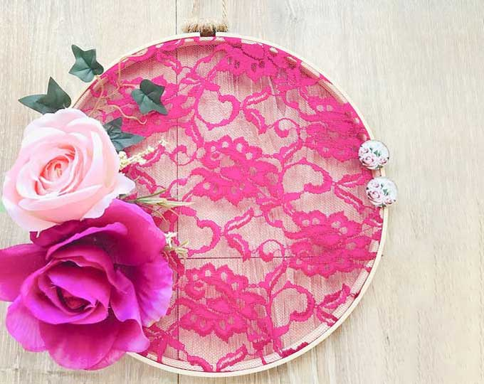 lace-and-flower-wall-decor