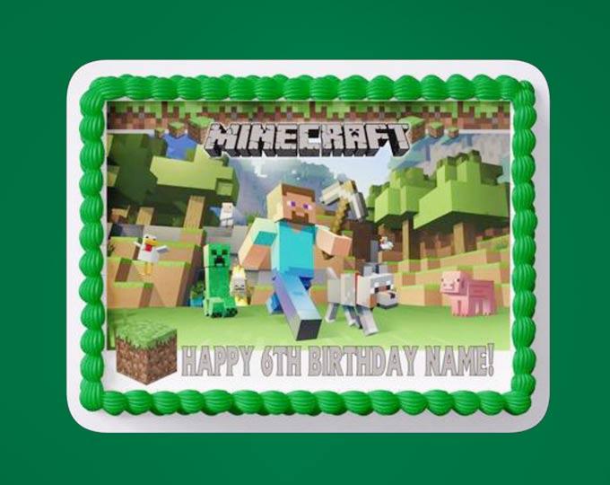 custom-edible-cake-topper-gaming