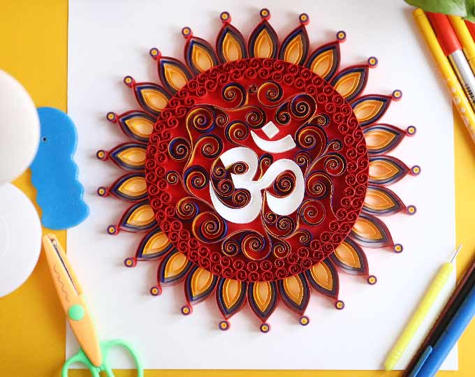 om-wall-art-made-to-order-quilled