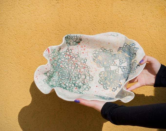 platter-with-lace-and-multicolor