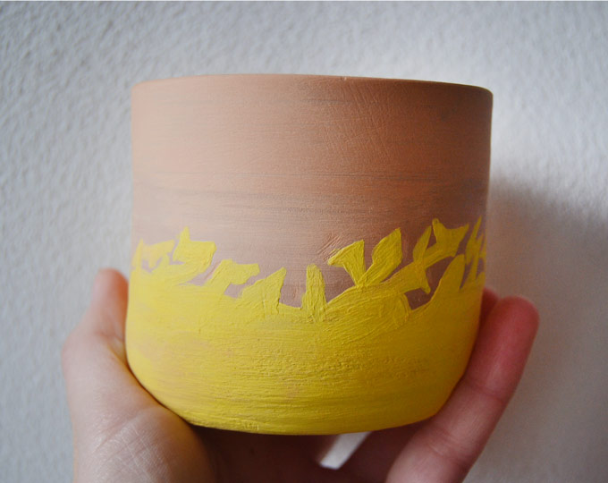 handmade-ceramic-pot-with-yellow