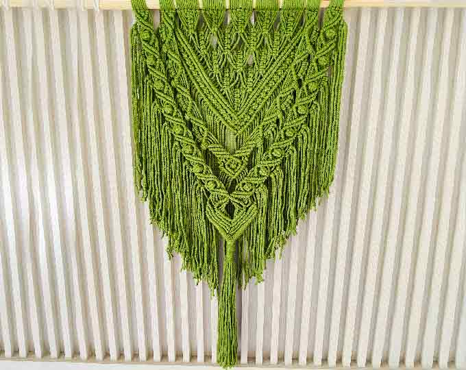 olive-green-macrame-wall-hanging