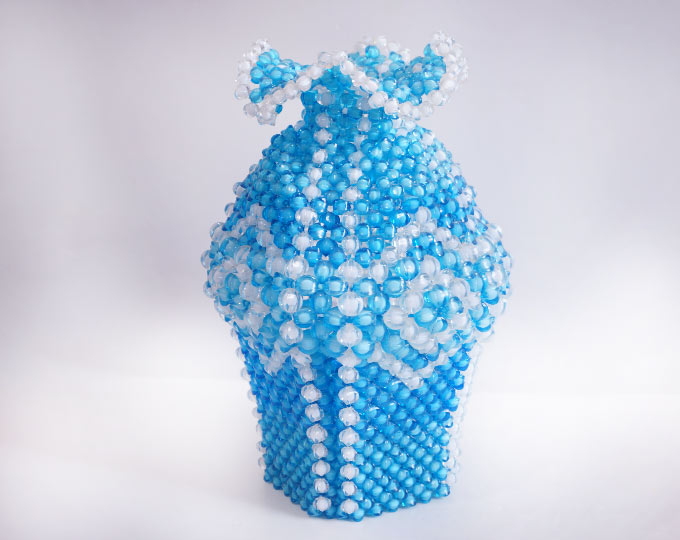 diamondstyle-beading-vase