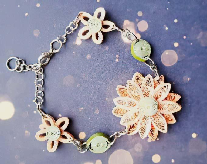 handmade-quilling-bracelet