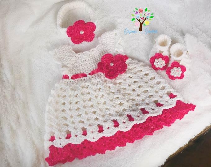 fan-shell-dress-christening-set