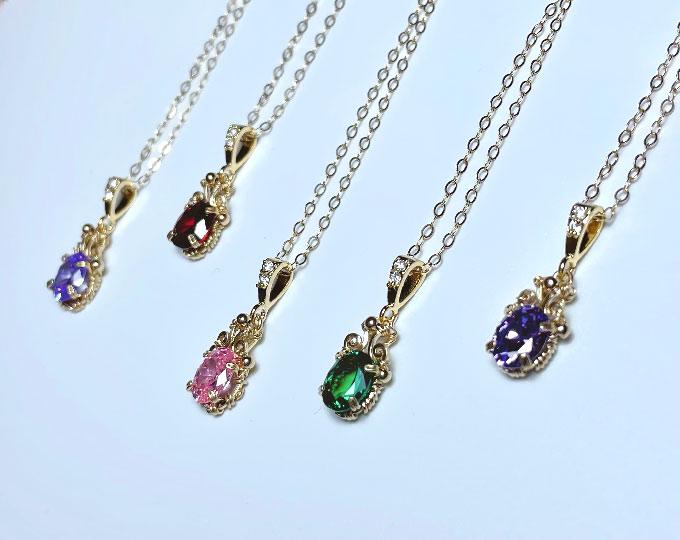 zircon-necklace-and-pendant