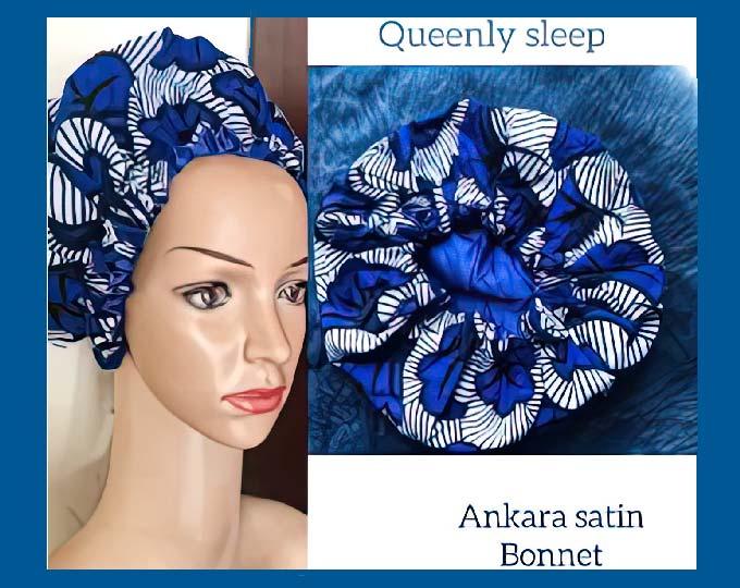 african-print-satin-bonnet