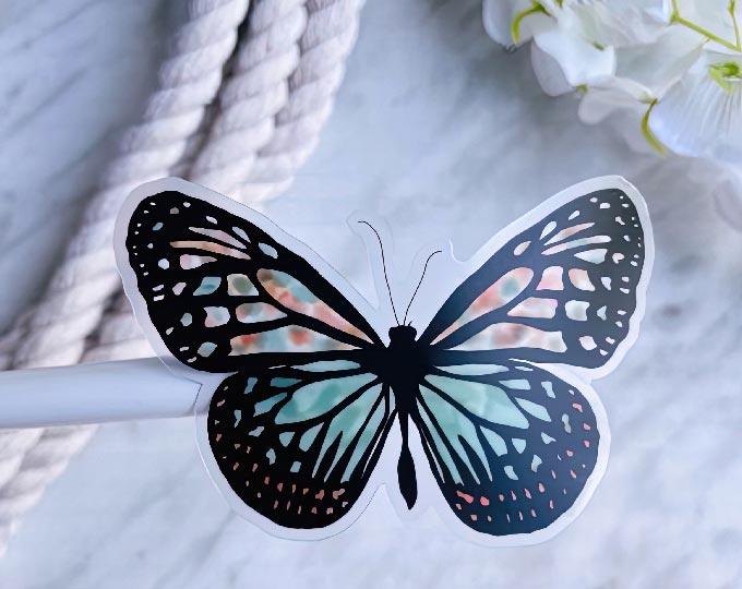 butterfly-sticker