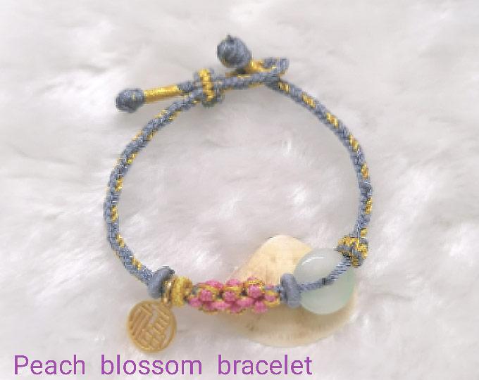 handwoven-peach-blossom-bracelet