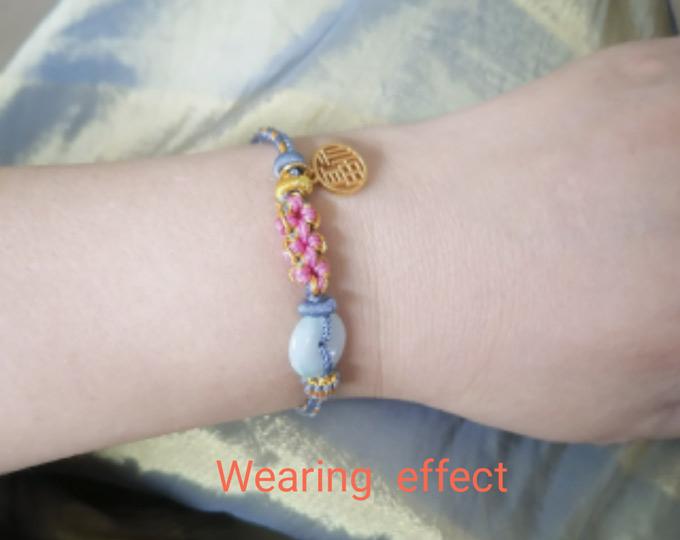 handwoven-peach-blossom-bracelet D