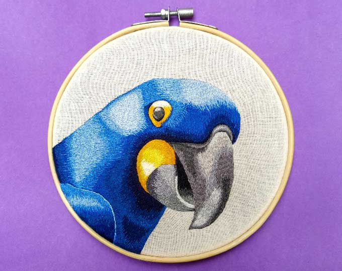 realistic-embroidered-blue-macaw
