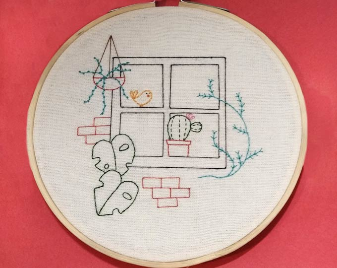window-embroidery