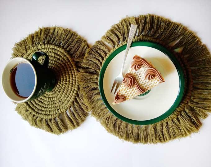 set-of-2-table-coasters-calm-oliva A