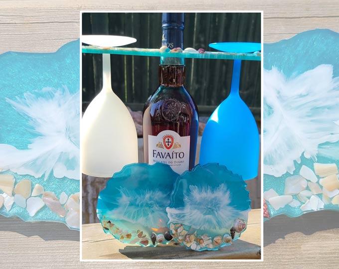 Beach-Theme-2-Glass-Resin-Wine-Butl