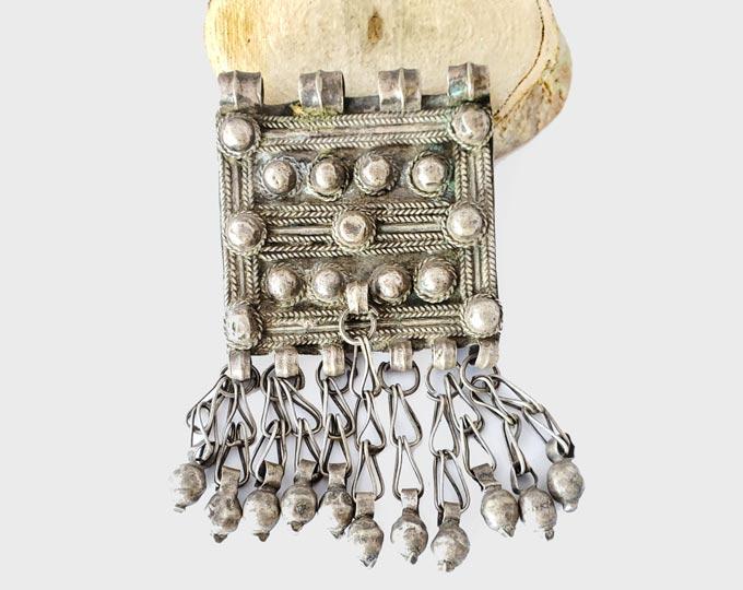 Antique-Ethiopian-silver-Prayer-Box