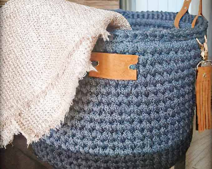 bascket-crochet-handmade