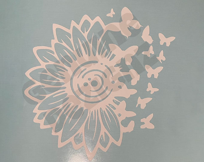 permanent-flower-butterfly-decal